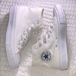 Off-White High Top Converse.